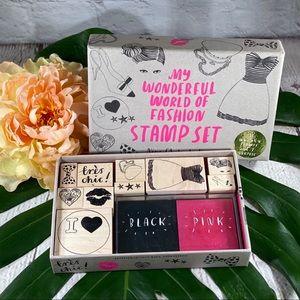 My Wonderful World of Fashion Stamps